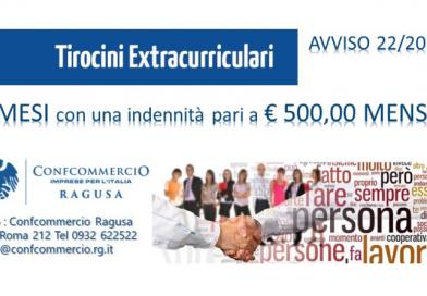 Tirocini Extracurriculari – Avviso 22/2018