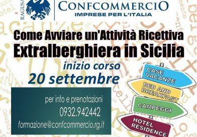 """Corso di Formazione – Come avviare un'attività ricettiva extralberghiera in Sicilia"""" (bed & breakfast, affittacamere,case vacanza,albergo diffuso,locazione turistica)"""