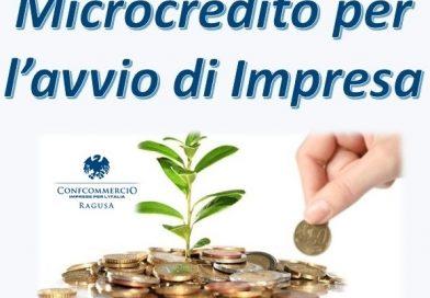 Microcredito per l'avvio di Impresa