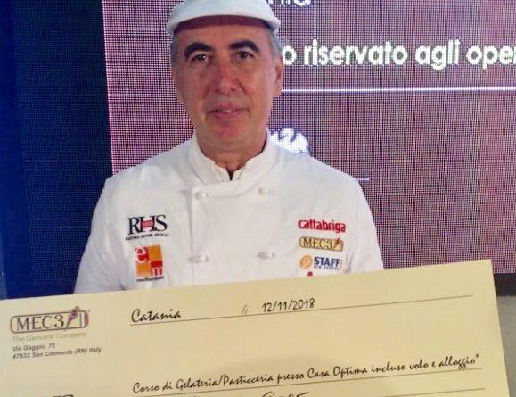 Il migliore gelataio siciliano è il modicano Rosario Fiore Il riconoscimento è arrivato dopo il contest tenutosi a Catania in occasione della 15esima edizione di Rhs I complimenti di Fipe Ragusa e di Confcommercio