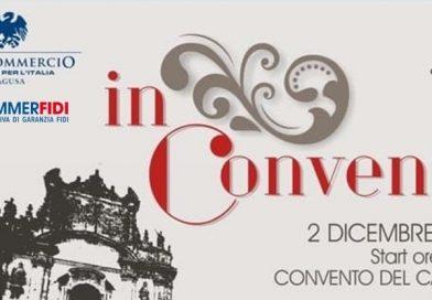 IN CONVENTO : Cultura, Moda, Arte,Gusto. 2 Dicembre 2018 ore 18.00. Convento del Carmine.