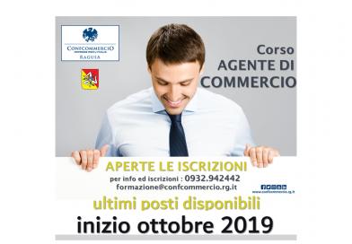 Corso Agente di Commercio – inizio ottobre 2019