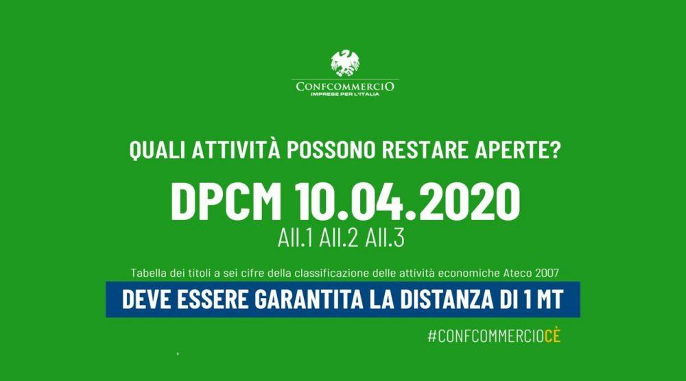 Foto attività aperte DPCM