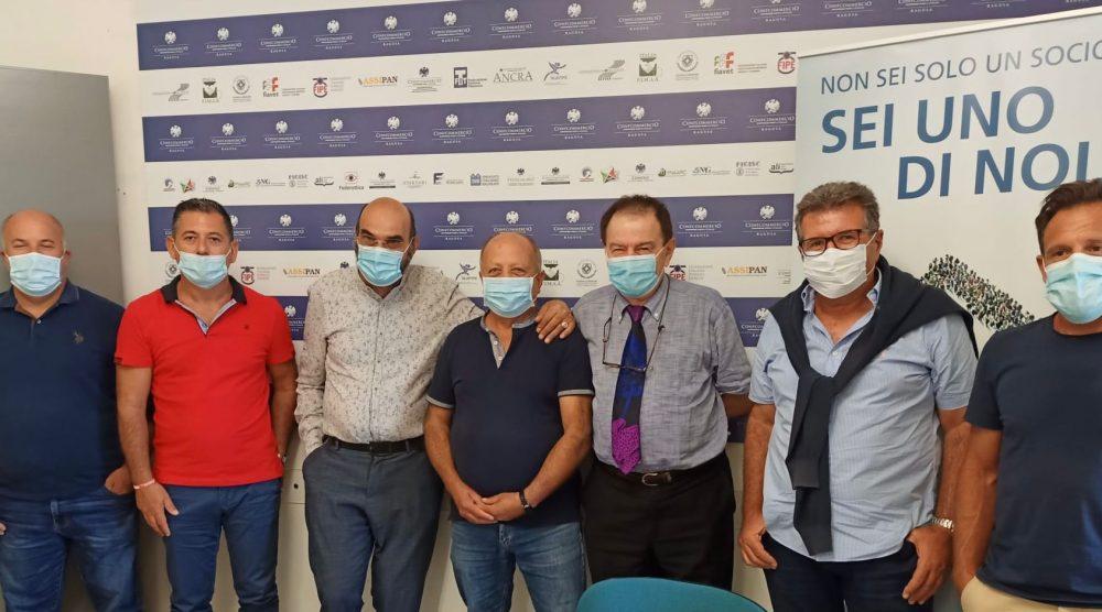 I partecipanti alla riunione tenutasi a Ragusa