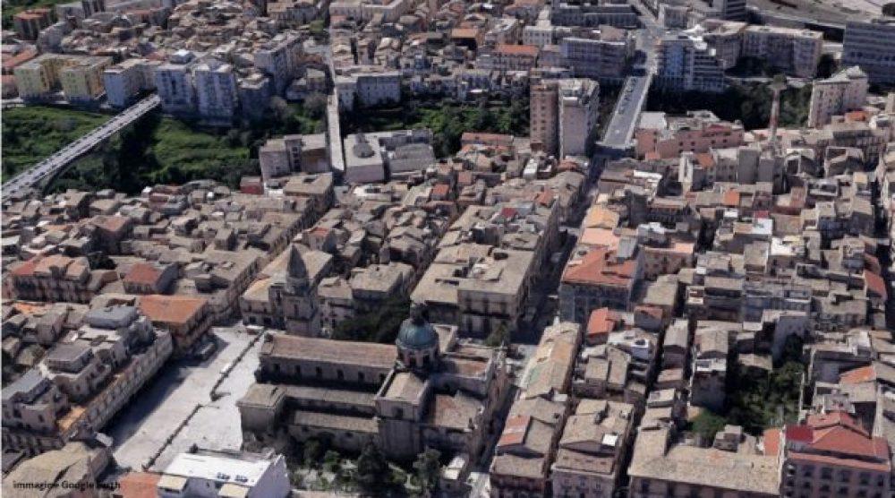 Il centro storico superiore di Ragusa