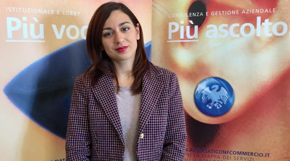 Il presidente Confcommercio Monterosso Lorena Camillieri