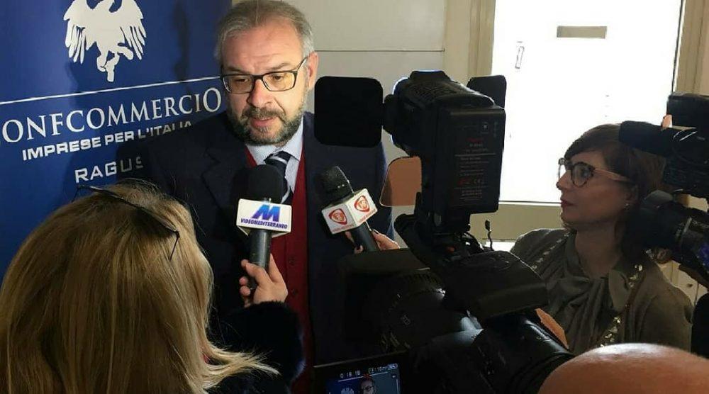 Il presidente provinciale di Confcommercio Ragusa Gianluca Manenti