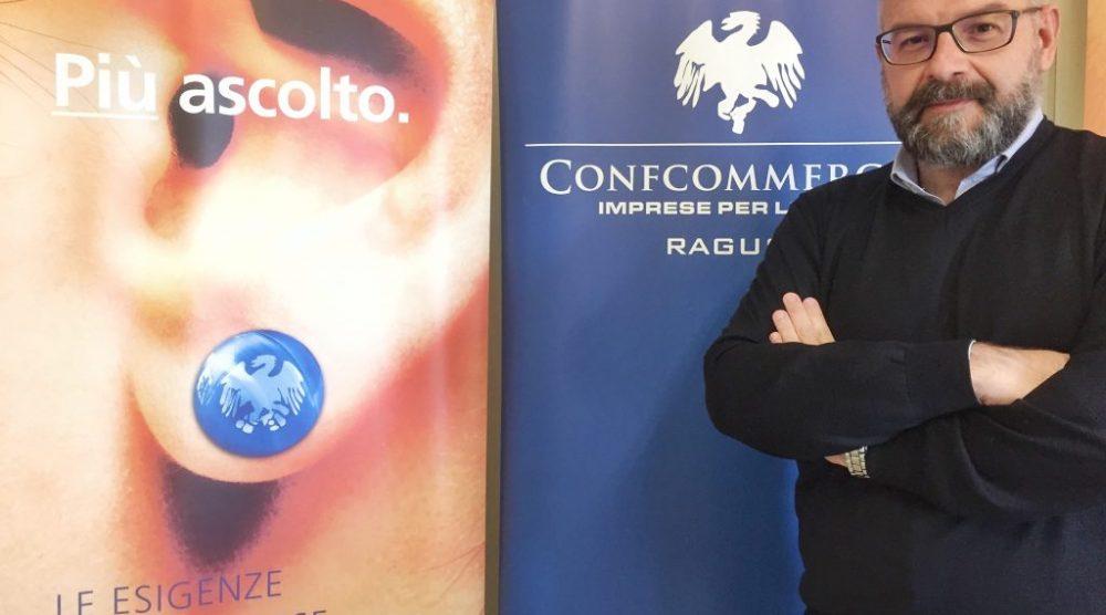 Il presidente regionale Confcommercio Sicilia Gianluca Manenti