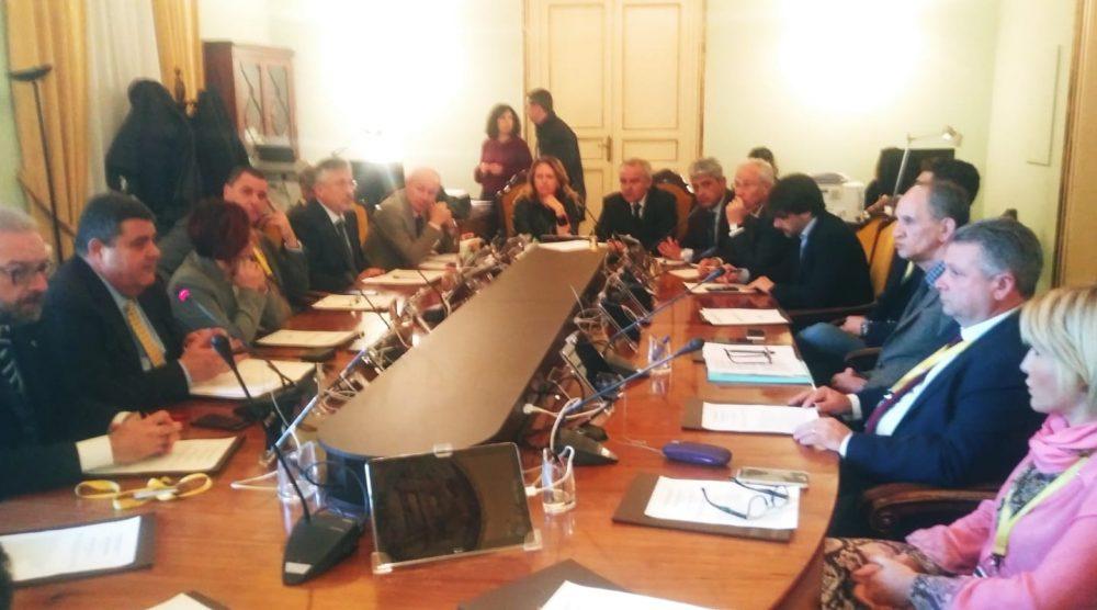 La riunione congiunta delle due commissioni all'Ars