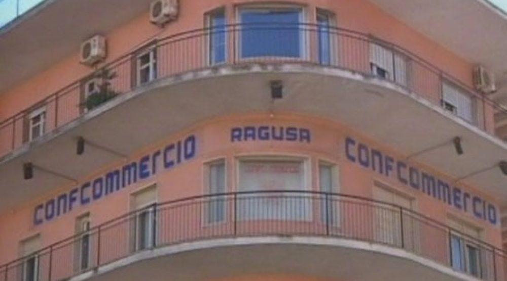 La sede di Confcommercio a Ragusa