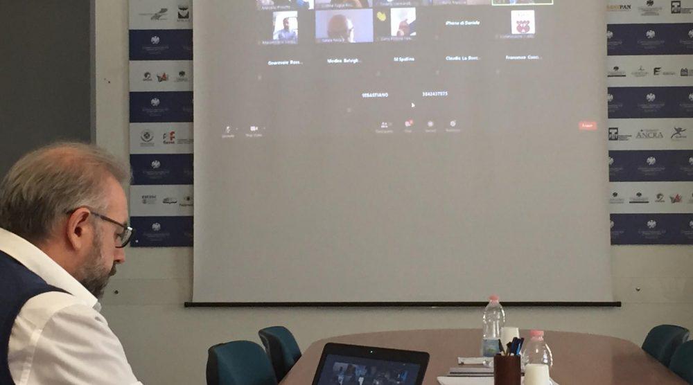 L'audizione del presidente Manenti in terza commissione