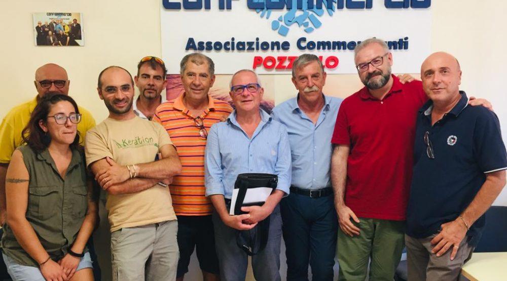 L'incontro tra Confcommercio e amministrazione comunale a Pozzallo