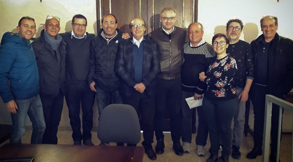 L'incontro tra il direttivo Ascom e il sindaco di Chiaramonte Gulfi
