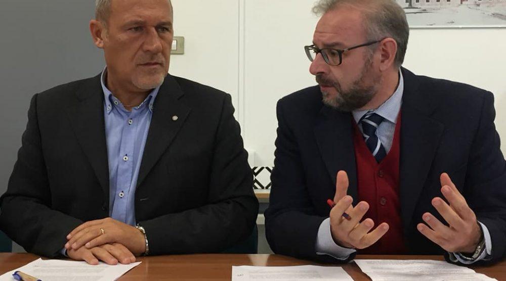 Maurizio Attinelli e Gianluca Manenti