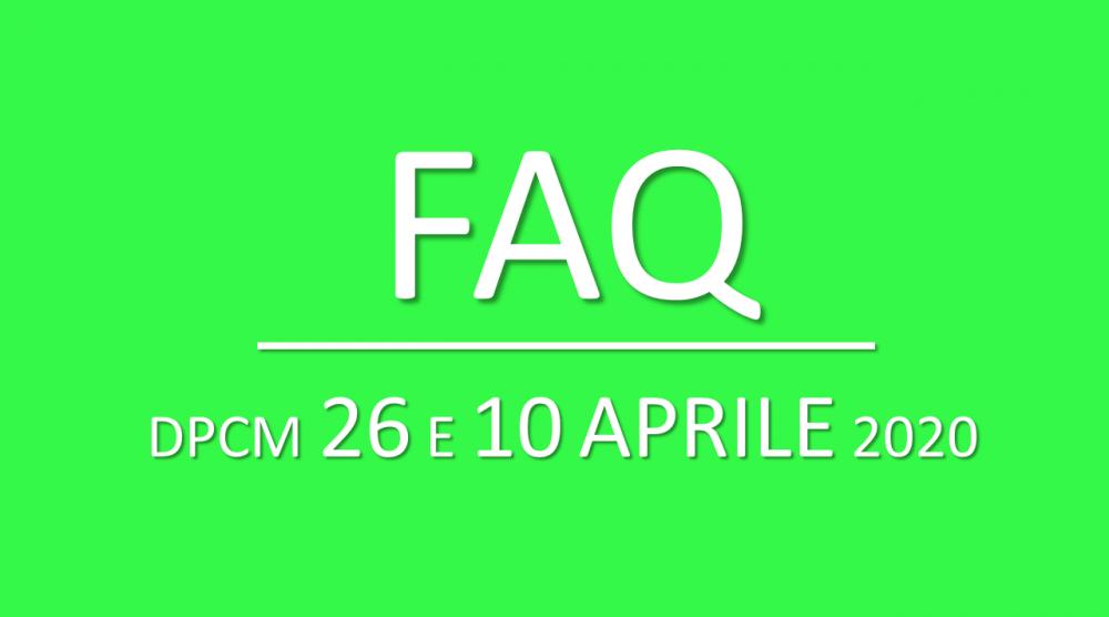faq 26 aprile